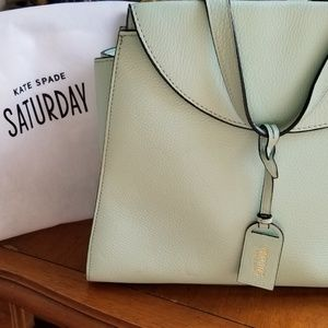 Kate Spade Large Tote Mint Green